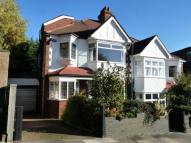 semi detached house in Linden Road, London, N10