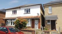 semi detached house in Parker Road, Winton...
