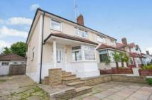 semi detached home in Paddock Road, London, NW2