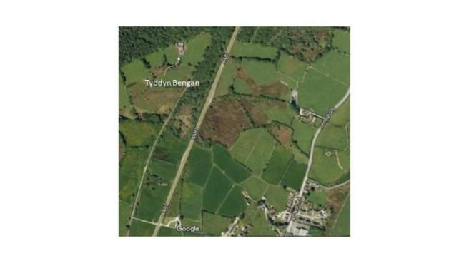 Location aerial shot