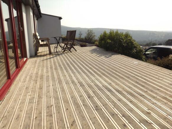 Raised decking area