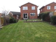 Detached house in Blackthorn Close...