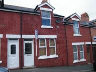 Terraced house in Agnes Grove, Colwyn Bay...