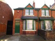 semi detached house in Back Bay View Road...