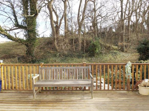 Decking Area at Rear