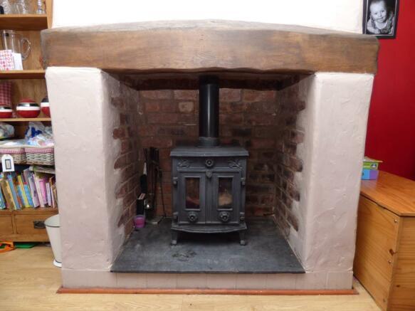 Wood Burning Stone