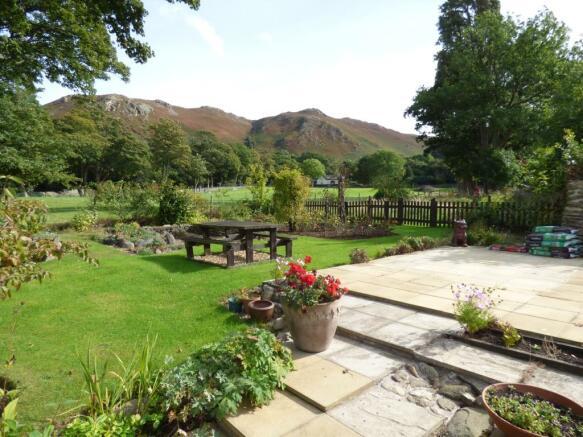 Rear Garden & Allotm