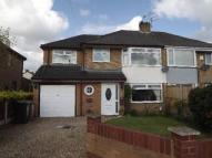 semi detached home in Rossall Grove...