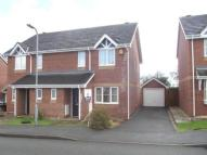 3 bed semi detached house in Bro Caerwyn, Llangefni...