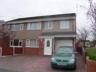 semi detached house for sale in Willow Walk, Leeswood...