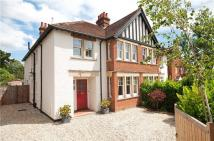 semi detached property in Woodstock Road, Oxford...