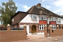 semi detached home for sale in Holland Avenue, London...