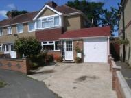 semi detached house for sale in Ewell Way, Totton...