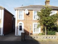 semi detached house for sale in Wilton Road, Shanklin...