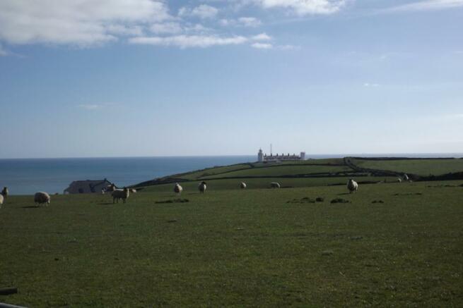 Views towards sea an