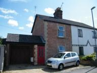 2 bed semi detached house in Station Terrace...