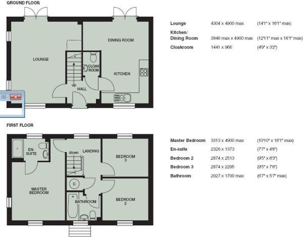 Brancaster Floorplan