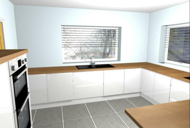 Kitchen CGI