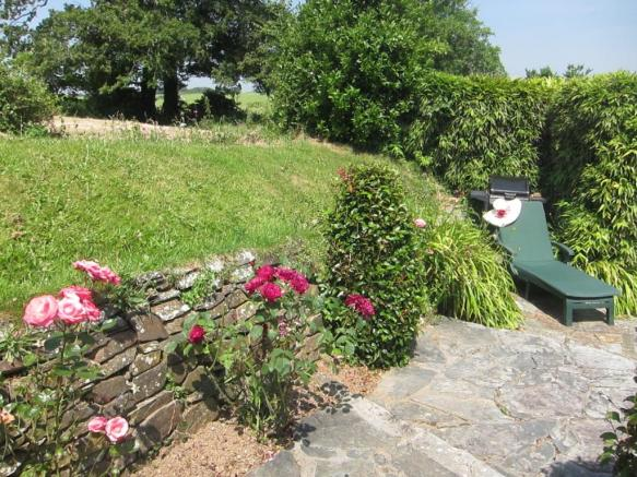 Top garden terrace