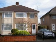 semi detached home in Eastwood Crescent...