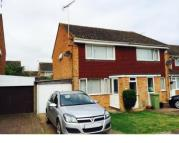 2 bedroom semi detached house in Harkness Close...