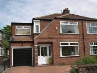 4 bedroom semi detached home in Burnside Road, Gatley...
