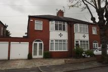 3 bedroom semi detached home for sale in Leyland Avenue, Gatley...