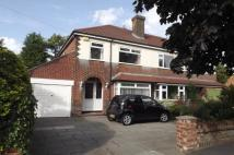 semi detached house in Ack Lane West...