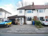 3 bed semi detached property in Meadway Road...