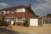 3 bed semi detached property in East Downs Road...