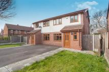 semi detached property for sale in York Avenue, Culcheth...