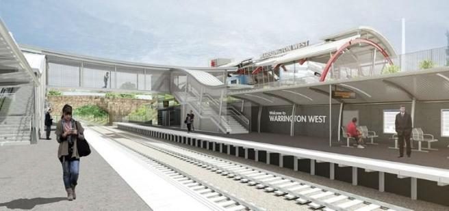 Proposed train stati