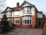 4 bed semi detached home in Knutsford Old Road...
