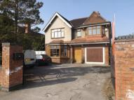 Detached home for sale in Nantwich Road...