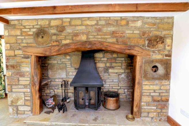 OLF Stone Fireplace