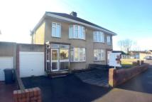 3 bedroom semi detached property in Kelston Grove, Hanham...