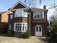 Detached house in Dean Road, Handforth...