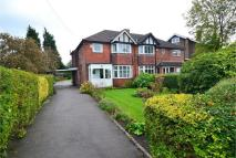 3 bedroom semi detached home in Bramhall Moor Lane...