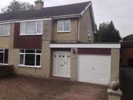 semi detached house in Gregory Crescent...