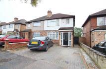 Hampden Road semi detached house to rent