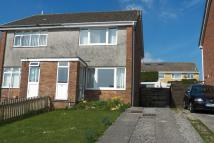 2 bed semi detached home in Clos Crucywel...