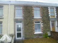Terraced house in Shaw Street, Gowerton...