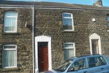 Terraced property in Iorwerth Street...