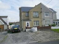 semi detached home in Neuadd Road...