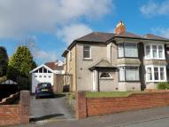 3 bed semi detached house in Moorside Road...