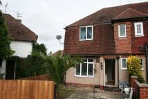 Park View Road semi detached property to rent