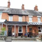Terraced home for sale in Cobden Street, Welshpool...