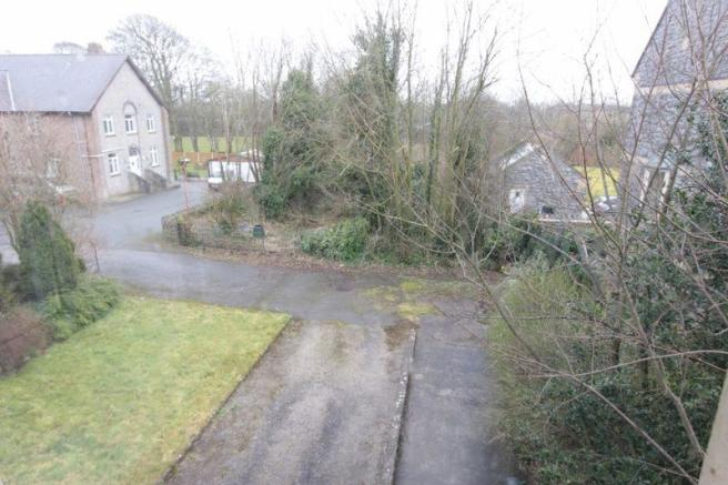 Aerial of fron...