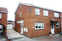 2 bed semi detached property in Stonegarth Close...