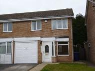 3 bed semi detached property in Foxhill Close...
